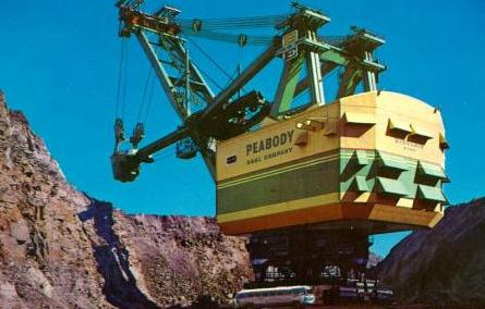 Peabody Coal's giant shovel
