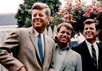 The Kennedy brothers Photo: Kennedy Library