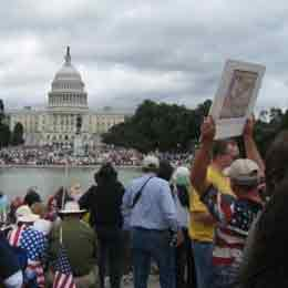 A tea party in the nation's capital