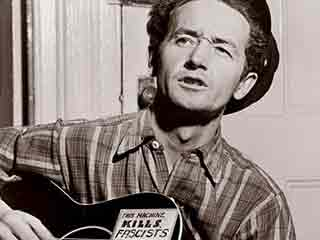Woody Guthrie sought justice for the poor.