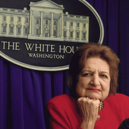 Helen Thomas | White House photo